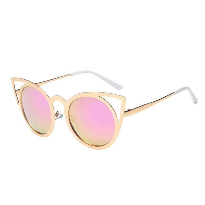 lunettes grand Classic lunettes hommes marque Barbie Femmes de soleil de de cadre mode de soleil lunettes Squar Gold soleil Frame EwXEORq