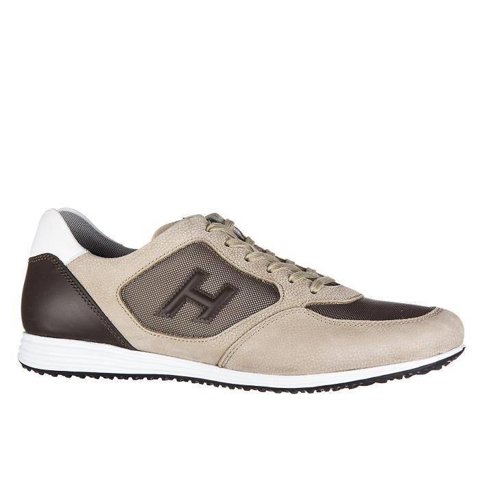 Chaussures baskets sneakers homme en cuir h 205 olympia h 3d Hogan