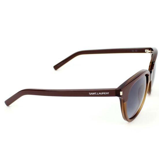 f5f4302103c Lunettes de soleil Yves Saint Laurent YSL SL 10… Marron - Achat   Vente  lunettes de soleil Femme - Cdiscount
