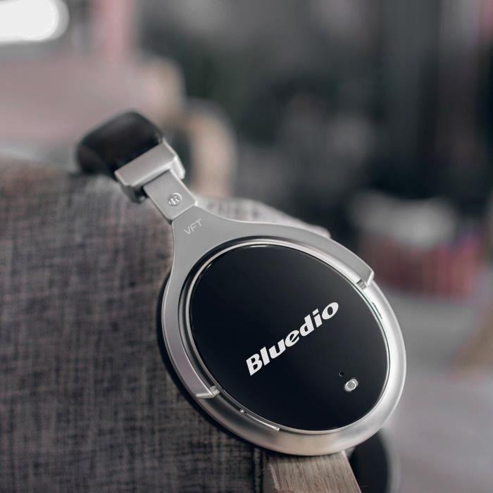 Écouteurs Bluetooth Sans Fil Stéréo Réduction Du Bruit F2 Noir