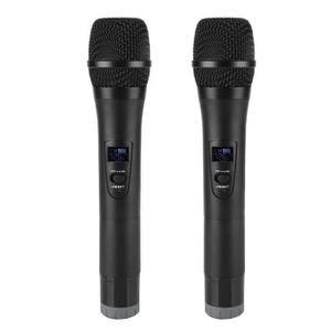 HAUT-PARLEUR - MICRO Eiffel Microphone à main sans fil universel VHF av