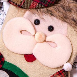 BOITE DE RANGEMENT Joyeux Noël arbre de peluche accrochant de cadeau