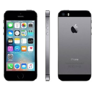 SMARTPHONE RECOND. iPhone 5S GRIS SIDERAL 16Go reconditionné à neuf