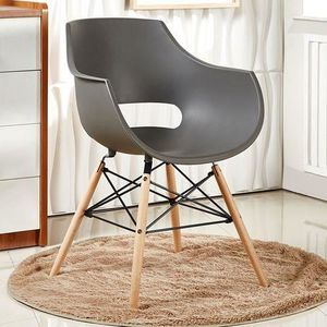 CHAISE Chaise Design Olivia Grise Salle Manger