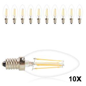 AMPOULE - LED Lot de 10 Ampoule LED 4W Incandescent COB Bulbs 45