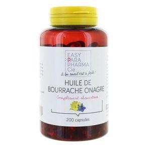 DÉFENSE IMMUNITAIRE  easyparapharmacie huile de bourrache onagre 200 ca