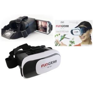 LUNETTES 3D Casque VR 3D réalité virtuelle immersive lentilles