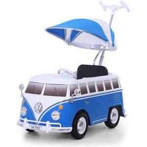 JOUET À TIRER Bus à pousser VW bus T2 bleu