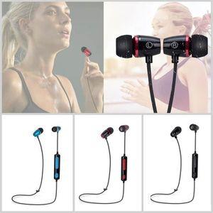 CASQUE - ÉCOUTEURS Casque d'écoute Bluetooth sans fil universel casqu
