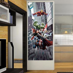 AFFICHE - POSTER Poster porte Equipe Avengers Marvel