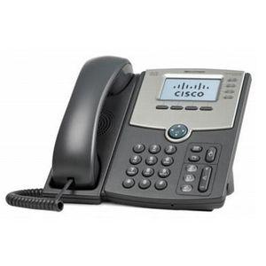Téléphone fixe Cisco SPA514G, LCD, 128 x 64 pixels, 4 lignes, 60