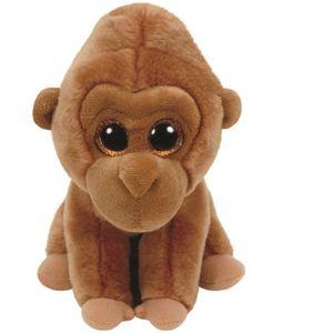 PELUCHE TY Peluche Monroe le Gorille - 10 cm