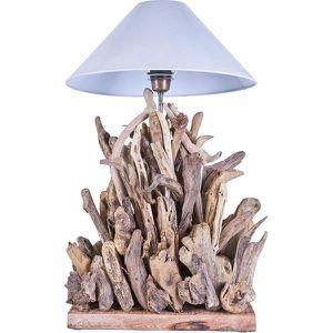 LAMPE A POSER Lampe En Bois Flotte FIRE