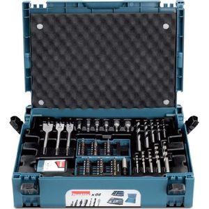 COFFRET CONSOMMABLE MAKITA Coffret Makpac B-43044 66 accessoires