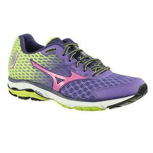 Mizuno Chaussure Running Wave Impetus 2–Sneaker Femme Bordeaux Violet 38 e9YrsKw