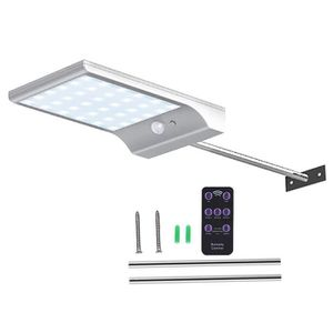 2 Solaire Pack Avec De Étanche Led 100 Lampe Extérieur Détecteur v8wyn0mNO