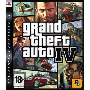 JEU PS3 GTA IV [import allemand]