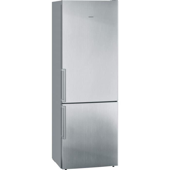 Réfrigérateur combiné SIEMENS KG49EBI40 - Réfrigérateur combiné - Largeur 70 cm - Réfrigérateur : 301 L - Dégivrage automatique - Froid brassé - Mode Vacances - Fonction Super... Voir la présentationREFRIGERATEUR CLASSIQUE