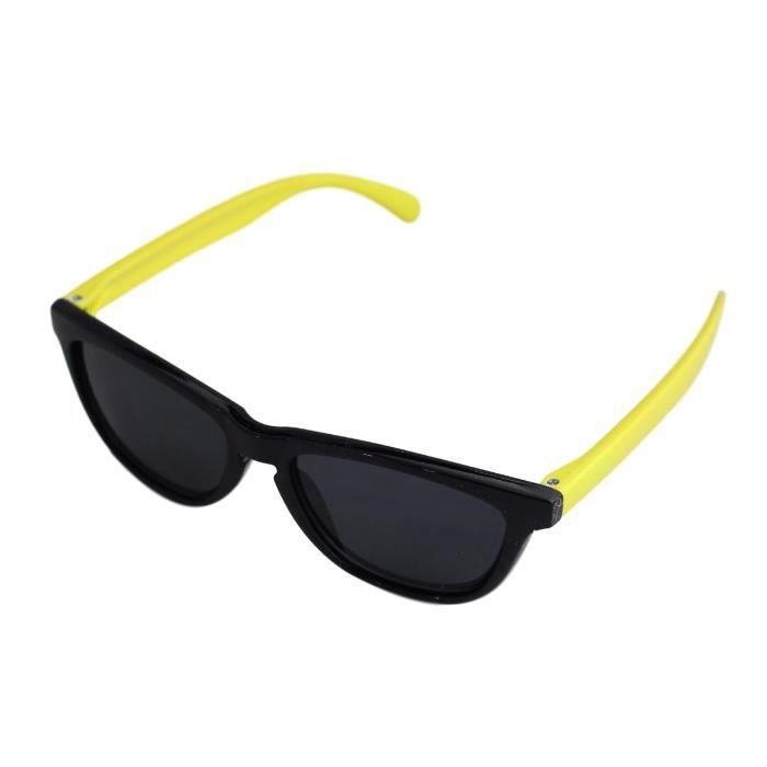95759991516e6 lunettes de soleil enfant style Wayfarer retro vintage 80's Verre noir -  Fashion tendance