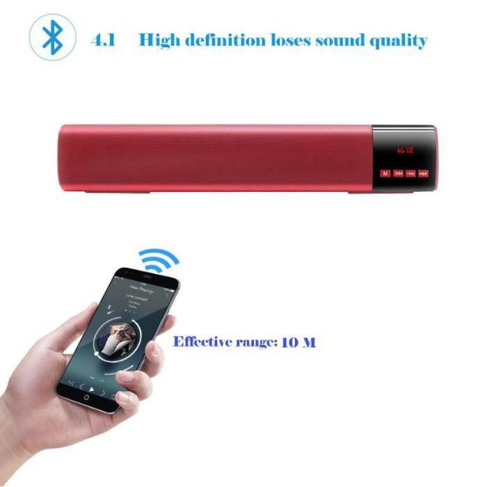 V3.0 Haut-parleur Sans Fil Bluetooth Portable Son Hd Et Superb Basse @los451