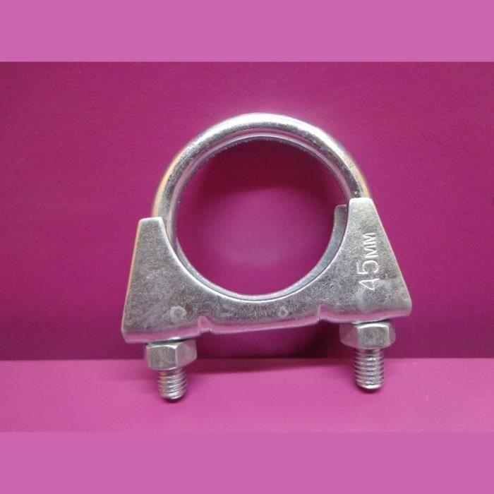 beauté choisir le plus récent prix modéré 1 collier de tube d échappement diamètre 45 mm