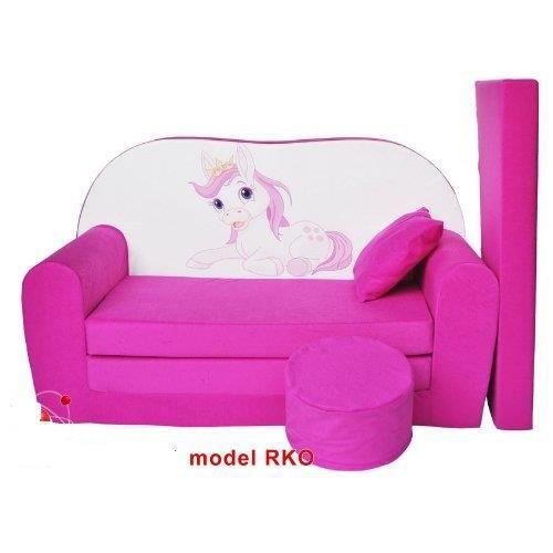 chaussures de sport 1229d 9179f Sofa enfant 2 places se transforme en un canapé-lit - Achat ...