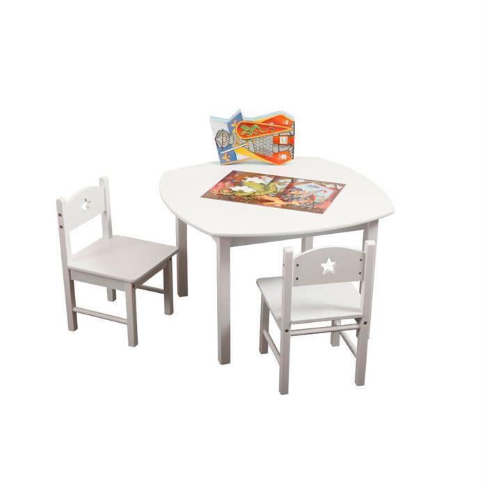 Ensemble Table Et Chaises Enfant ETOILE