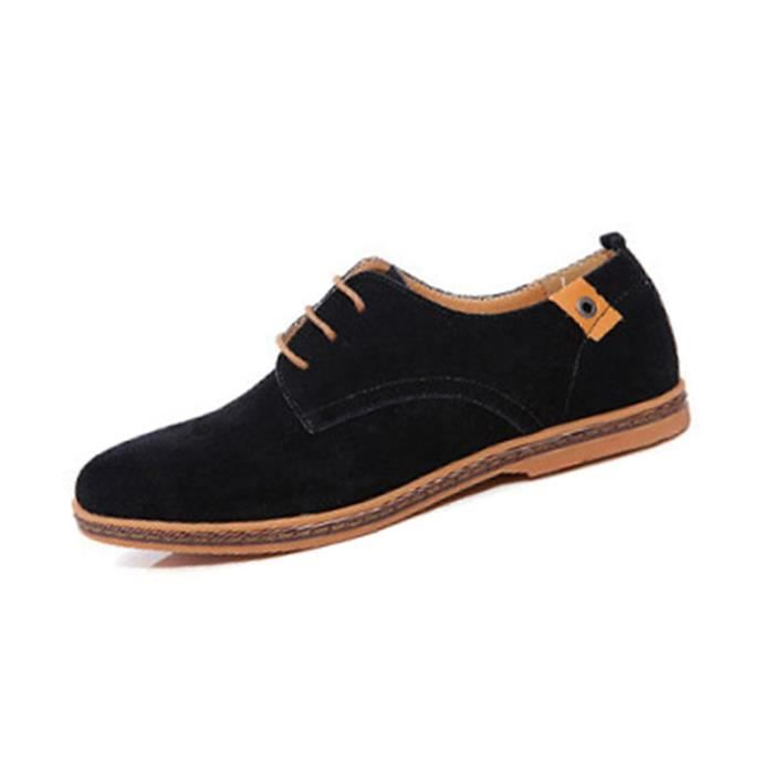SIMPVALE Mocassins Suede Classic Oxford Cuir Chaussure Homme o41vMRL