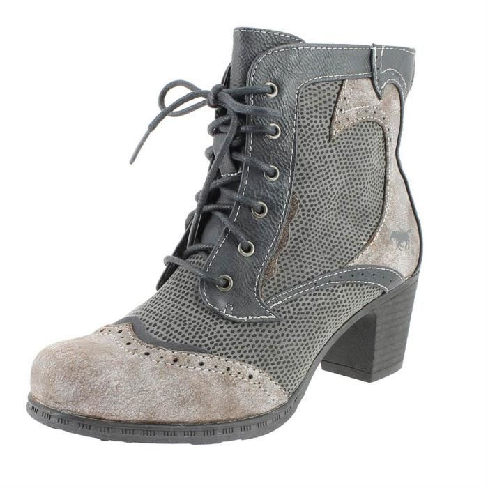 bottines / low boots 1258-501 femme mustang 1258-501 N0VmcsC