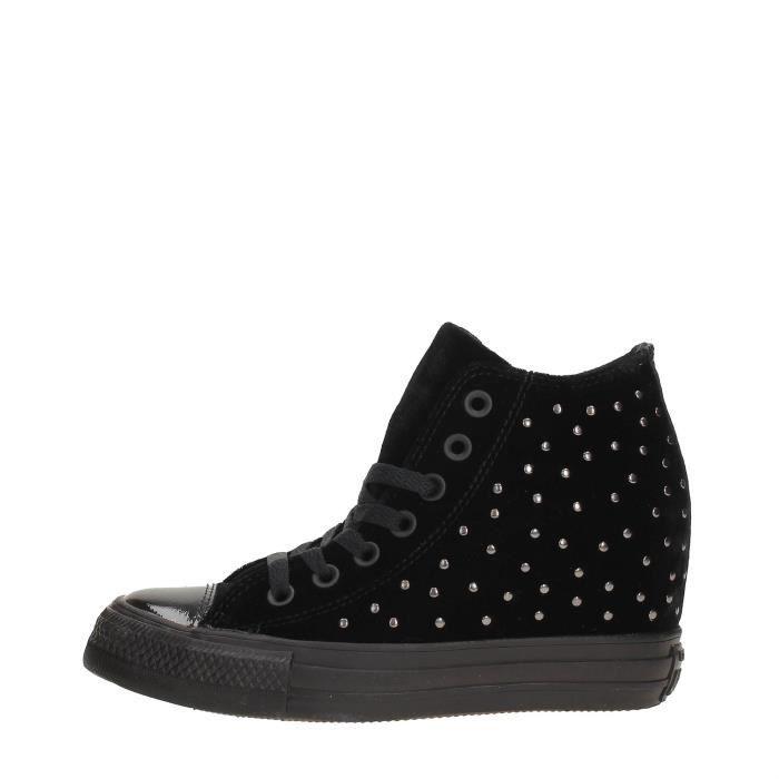 dfe88a15aff1 Converse Sneakers Femme BLACK, 40 Noir Black - Achat   Vente basket ...