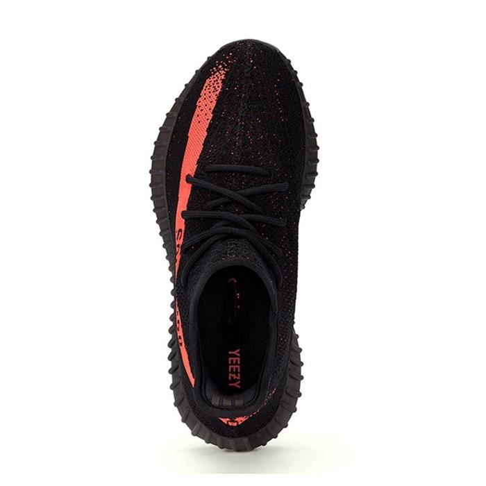 602abb490c0c Baskets Yeezy Boost 350 V2 Core Black Red Real Boost BY9612 Noir ...