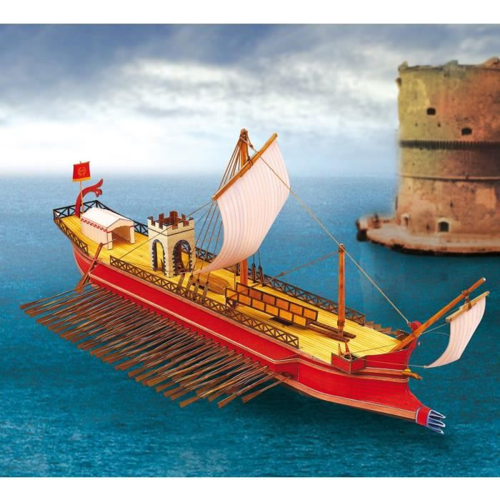 bateau romain