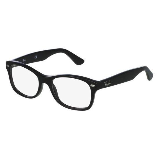 Lunettes de vue Ray Ban RY1528 -3542 Noir Noir - Achat   Vente lunettes de  vue Lunettes de vue Ray Ban R... Homme - Cdiscoun b8aa198daf33