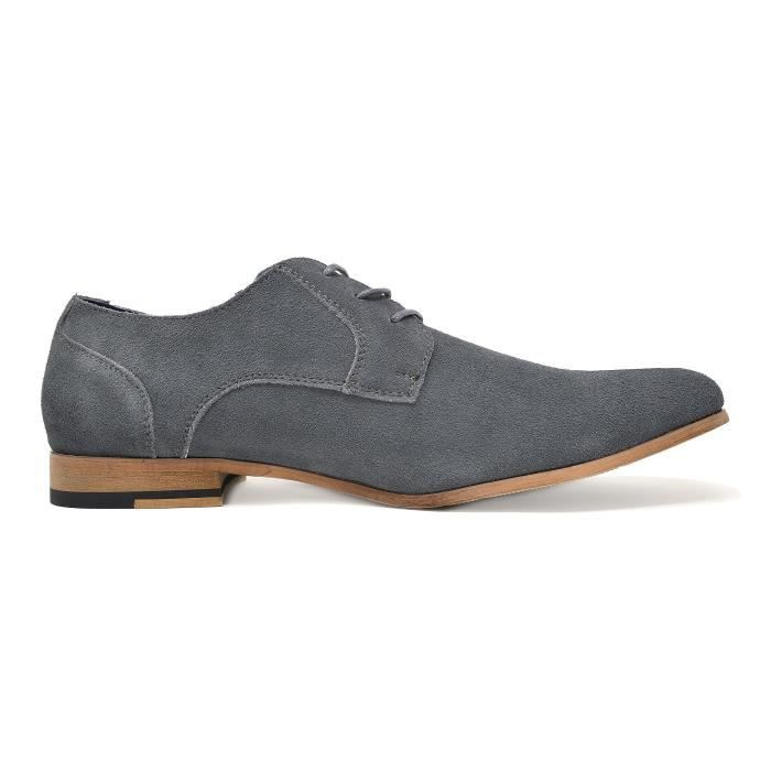 1 Taille Oxfords Marc Constiano Bruno Suede 41 En Chaussures Cuir Cb876 qw6xp7g4B