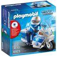 playmobil police moto
