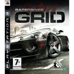 JEU PS3 RACE DRIVER GRID / JEU CONSOLE PS3