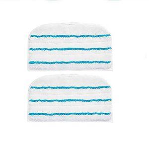 NETTOYEUR VAPEUR Lot de 2 Lingettes Microfibres de Rechange pour le