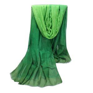 ECHARPE - FOULARD Fashion Lady gradient couleur long Wrap femmes châ 3d2cb5ea615