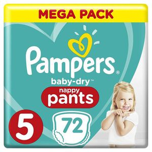 COUCHE Pampers Baby Dry Pants Couche-Culotte Taille 5 12-