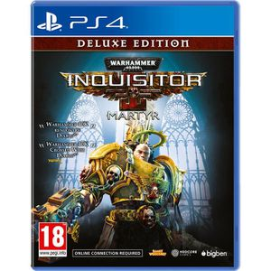 JEU PS4 Warhammer 40.000 Inquisitor de luxe editiion