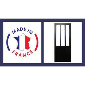 PORTE COULISSANTE PORTE STYLE ATELIER NOIRE 93   SOLDES EXCEPTIONNEL 7a434882e86