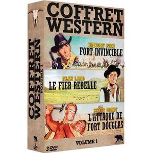 DVD FILM Coffret western : Alan Ladd, Olivia de Havilland,