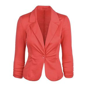 5dc3450333b21 VESTE Minetom Blazer Femme Élégant Blazer à Manches Long