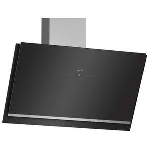 HOTTE Neff - hotte décorative inclinée 89cm 740m3-h noir