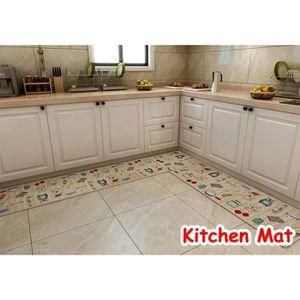 Tapis De Sol Cuisine Achat Vente Pas Cher - Carrelage cuisine et tapis de sol pour hall d entrée
