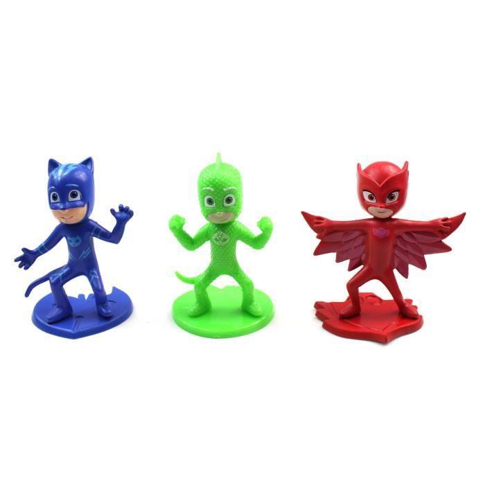 3 3 Pyjamasques 3 Figurines Pyjamasques Figurines Pyjamasques Figurines KlFJ1c