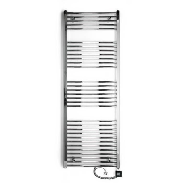 radiateur lectrique seche serviette chrom 1000 watts barres courb es 1775htx600l achat. Black Bedroom Furniture Sets. Home Design Ideas