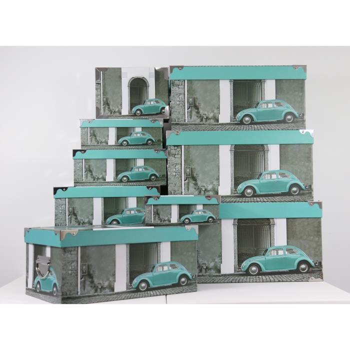 grande boite de rangement carton achat vente pas cher. Black Bedroom Furniture Sets. Home Design Ideas