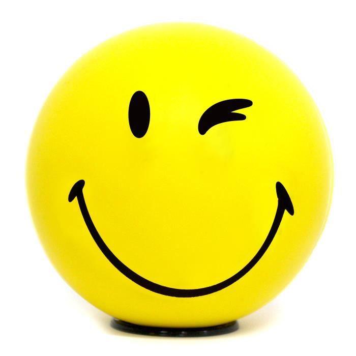 Lampe à Led smiley émoticône clin d'œil - Jaune - Achat ...