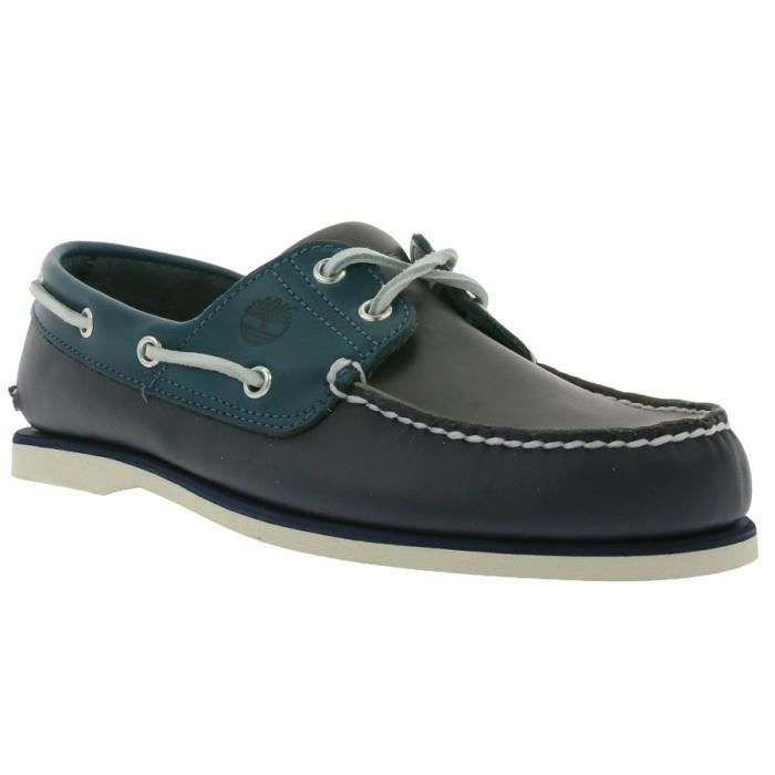 Timberland Classic 2 Eye Boat Chaussures Hommes Bateau A16LL